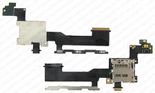 HTC ONE M9 MICRO SD MEMORY CARD READER HOLDER POWER BUTTON VOLUME FLEX CABLE D27