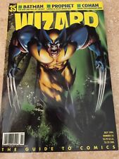 WIZARD THE GUIDE TO COMICS - JULY 1994 - NUMBER 35 - NEW IN PLASTIC SLEEVE