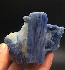 255g Natural Blue KYANITE with Mica & Quartz Crystal Specimen Rough1022