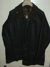barbour beaufort jacket waxed cotton brown marrone  giacca   c46-117 xl