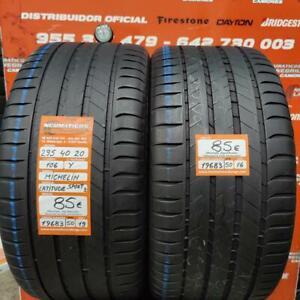 2 x 295 40 R 20 106Y 6mm DOT19/16 Michelin Latitude Sport3 NO Ref. 19683
