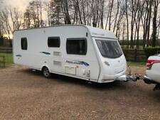 2009 Lunar Freelander 585 SI 4 Berth caravan FIXED ISLAND BED Awning Bargain !