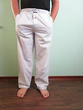 Massimo duty Homme Look Rétro En Coton Rayé Pyjama Bas Night Wear Sz L AW97
