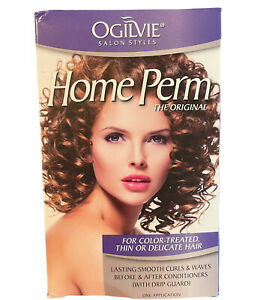 Men & Women Home Perm Kit-For Color Treated Thin Or Delicate Hair-Ogilvie A7/17
