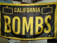 California Bombs flag for man cave flag shop flag garage flag lowrider flag