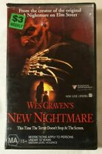 Wes Craven's New Nightmare VHS 1994 Horror Robert Englund Roadshow (Ex-Rental)