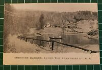 Early UDB Postcard CHESHIRE HARBOR, BERKSHIRE ST. R.R. Mass. Pre 1907