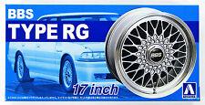 Aoshima 52402 Tuned Parts 01 1/24 BBS RG 17inch Tire & Wheel Set