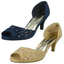 Peep Toes Party Standard Width (D) Heels for Women