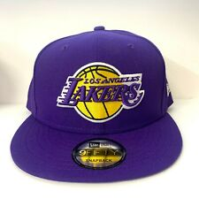 Los Angeles Lakers Purple 9Fifty New Era Snapback