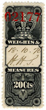 (I.B) Canada Revenue : Weights & Measures 20c