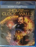 The House with a Clock in Its Walls (2018, Blu-Ray, DVD, Digital) New Sealed