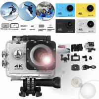 ACTION CAMERA 4K 1080P WiFi Camcorder Waterproof UNDERWATER Waterproof Video NEW