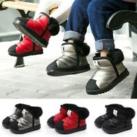 Kids Snow Boots Waterproof Toddler Infant Baby Boy Girls Winter Warm Ankle Shoes