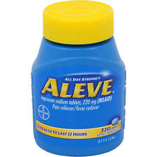 Brand New Aleve 220mg Caplet, 320 ct Free Shipping