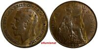 Great Britain George V (1910-1936) Bronze 1920 1 Penny KM# 810