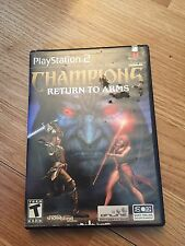 Champions Return To Arms PlayStation 2 Pretty Ruff Shape Discounted SB1