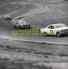 1967 Chuck Prickett #78 Chevy - NASCAR Motor Trend 500 - Vintage Race Negative