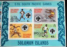 Solomon Islands – South Pacific Games – UM (MNH) (R6)