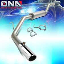 """FOR 2000-2006 TOYOTA TUNDRA CAT BACK EXHAUST SYSTEM+3""""OD STAINLESS MUFFLER TIP"""