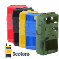 Silicone Walkie Talkie Plus Radio Case Protector For BAOFENG UV 5R UV-5RE DM-5R
