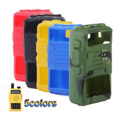 Silicone Walkie Talkie Plus Radio Case Protector For BAOFENG UV 5R UV-5RE DM-5R