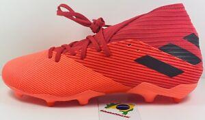 adidas Nemeziz 19.3 FG Orange EH0300 Soccer Cleats Men's Size 9.5
