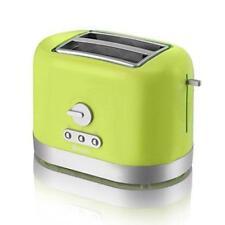 Swan 2 Slice Toaster Lime Home Kitchen Breakfast Healthy Defrost Reheat
