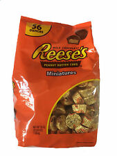 Reese's Milk Chocolate Peanut Butter Cups Miniatures 56Oz / 1.58Kg Made in USA