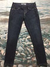 LEVI'S Denizen Size 12 Dark Wash Skinny Stretch Jeggings Jeans Pants