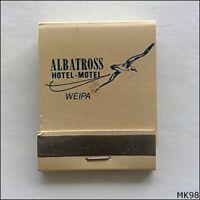 Albatross Hotel Motel Weipa 070697314 Matchbook (MK98)