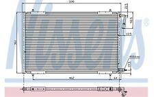 NISSENS Condensador, aire acondicionado PEUGEOT 206 94392