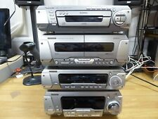 TECHNICS HiFi, Tuner, Amplifier, Cassette and CD Player SA-EH790 WORKING