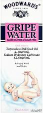 Woodward's Gripe Water - Alcohol and sugar free - Dual action - 150ml