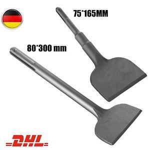 SDS-MAX/PLUS Spatmeißel Breiter Meissel Fliesenmeissel 80x300,75x165MM Für Bosch