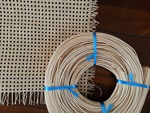 Rattan Wicker Cane Webbing chair repair Seat replacement repair kit Chair caning