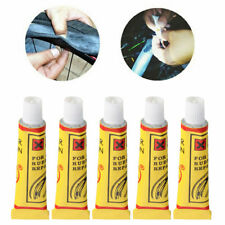 5PCS BIKE BICYCLE TIRE INNER TUBE PATCHES GLUE RUBBER PUNCTURE REPAIR TOOL
