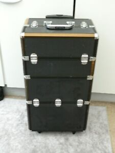 large beauty case / trolley with detachable beauty case