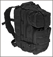 EXCELLENT QUALITY LEVEL III TACTICAL BACKPACK BLACK COLOR 600 DENIER FABRIC