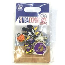 Disney Mickey Mouse NBA Experience Pin LOS ANGELES LAKERS Brand New!!