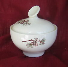 STETSON Thunderbird  ~ MISTY PINE ~ Sugar Bowl  With Lid