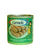 Salchichas Carmela Value pack Expired 2023 ( 24 CAN 5oz EACH chicken sausages)