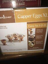 New listing Copper Chef Cooper Eggs Xl