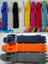 20mm High QTY rubber/silicon strap.bracelet.band SUS series chrono replacemement
