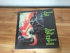 EMERALD WEB Dragon Wings And Wizard Tales LP *RARE* 1979 soft machine eno faust