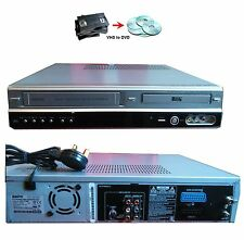 Sanyo DVR-V100E Multiregion VCR VHS DVD Combi Recorder Converter,EXT SKY REC in