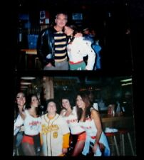 Vtg Hooters Girls Photo Billy Bob Thornton Matthew Hooper Bad News Bears Movie