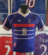 Maillot jersey shirt maglia camiseta France 98 1998 XS zidane 2018 sans étoile