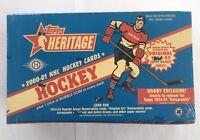 2000-01 Topps Heritage Factory Sealed NHL Hockey Hobby Box