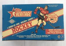 2000-01 Topps Heritage Factory Sealed NHL Hockey Hobby Box